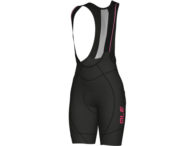 Alé Cycling PRR 2.0 Agonista 2 Bib Shorts Dam black-fluo pink